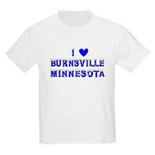 I Love Burnsville Winter T-Shirt