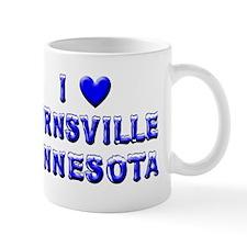 I Love Burnsville Winter Mug