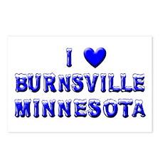 I Love Burnsville Winter Postcards (Package of 8)