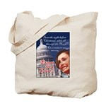 Nancy Pelosi Christmas Tote Bag