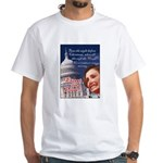 Nancy Pelosi Christmas White T-Shirt