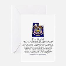 Utah Greeting Card