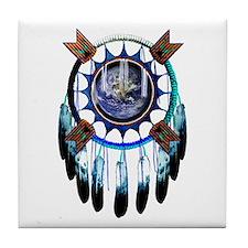 Indian Earth Tile Coaster