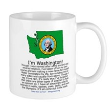 Washington Small Small Mug