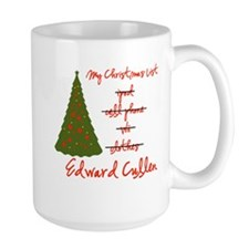 Edward for Christmas Mug