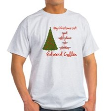 Edward for Christmas T-Shirt