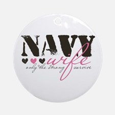 Navy Wife ... Ornament (Round)