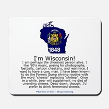 Wisconsin Mousepad