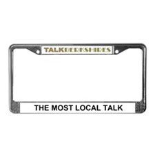 Funny Talk the talk License Plate Frame