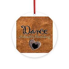 Dance Christmas Ornament