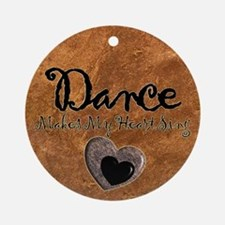 Dance Christmas Ornament