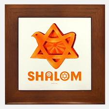Shalom Peace Framed Tile