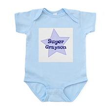 Super Grayson Infant Creeper