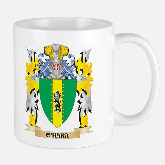 O'Hara Family Crest - Coat of Arms Mugs