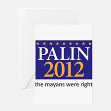 Cute Election 2012 Greeting Card