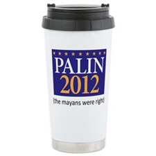 Funny I hate sarah palin Travel Mug