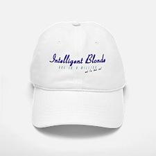 Intelligent Blonde Baseball Baseball Cap