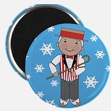 Barbershop Singer Christmas Magnet