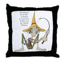 Puddleglum Throw Pillow