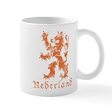 Netherlands - Lion - Orange Mug