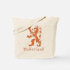 Netherlands - Lion - Orange Tote Bag