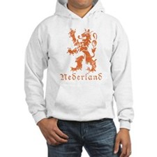 Netherlands - Lion - Orange Hoodie