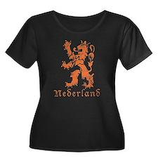 Netherlands - Lion - Orange T