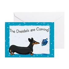 Bt Hanukkah Dog Greeting Cards (Pk of 10)