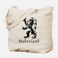 Netherlands - Lion - Black Tote Bag
