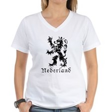 Netherlands - Lion - Black Shirt