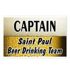 St. Paul Beer Drinking Team Postcards (Package of
