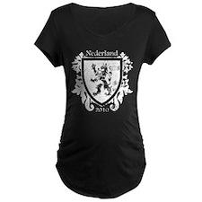 Netherlands - Crest - White T-Shirt