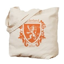 Netherlands - Crest - Orange Tote Bag