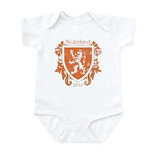 Netherlands - Crest - Orange Infant Bodysuit