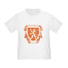 Netherlands - Crest - Orange T