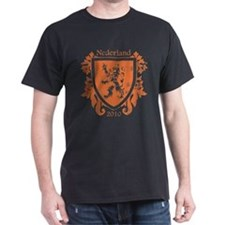 Netherlands - Crest - Orange T-Shirt