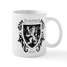 Netherlands - Crest - Black Mug