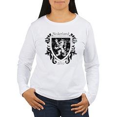 Netherlands - Crest - Black T-Shirt