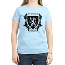 Netherlands - Crest - Black T-Shirt
