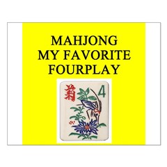 mahjong player gifts t-shirts Posters