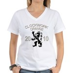 Netherlands - Clockwork Women's V-Neck T-Shirt
