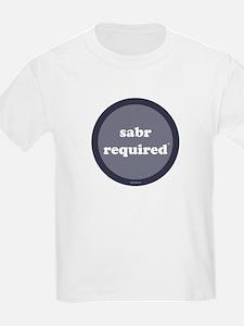 Sabr Required Kids T-Shirt (dark blue)