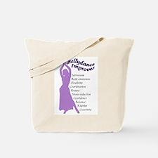 bellydance improves Tote Bag