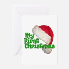 My First Christmas Greeting Card
