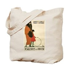 Toilettes d'Hiver Vintage French Art Tote Bag