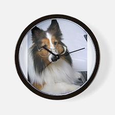 Computer Dog Wall Clock