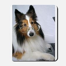 Computer Dog Mousepad