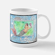 Mercat with Seahorse Mug