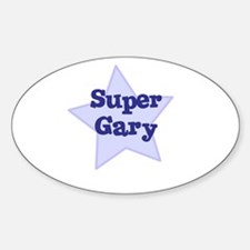 Super Gary Oval Decal