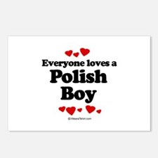 Everyone loves a Polish Boy ~  Postcards (Package